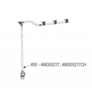 Char-Broil Gas2Coal Horse/Valve Regulator