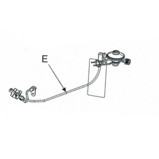 Char-Broil Patio Bistro 180 Hose Valve Regulator