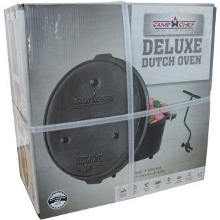 Camp Chef Deluxe Dutch Oven DO-14 mit flammo Spray
