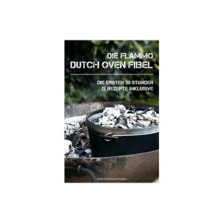 Camp Chef Deluxe Dutch Oven DO-14 mit flammo Dutch Oven Fibel