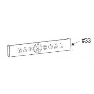 Char-Broil Gas2Coal Front Panel Upper G421-4004-W1