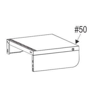 Char-Broil Gas2Coal Right Shelf Assembly G421-0900-W1