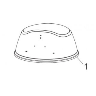 Char-Broil All-Star Top Lid 55711180