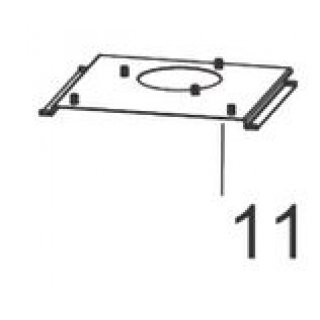 Char-Broil All-Star Grease Tray Support 55711038
