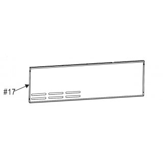 Char-Broil Gas2Coal 440 Back Panel G553-1405-W1A