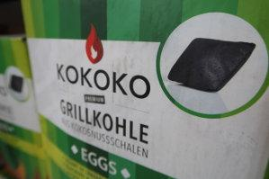 Grill-Kohle Kokoko