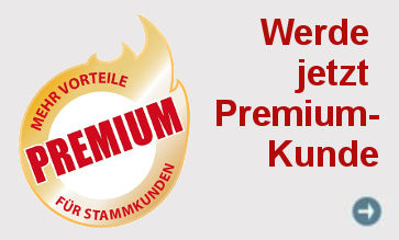 Hole dir unsere großen Vorteile und werde dazu Premiumkunde