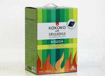Grillkohle Test mit Kokoko