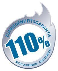 Flammo 110 Prozent Garantie